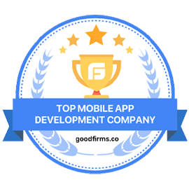 GoodFirms Top App development company 2020 - Fexle