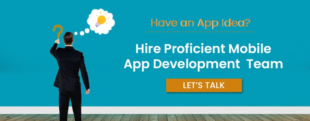 hire mobile app development team