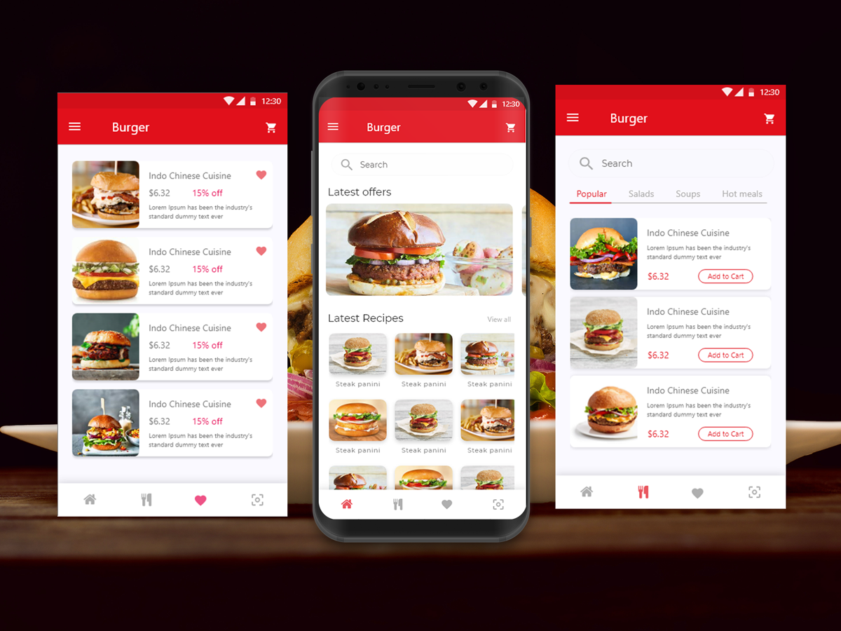 food delivery app developmment