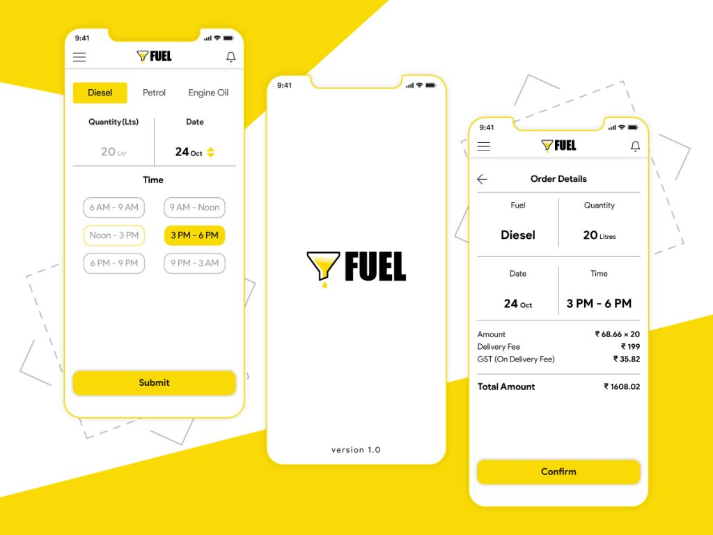 fuel delivery app development company