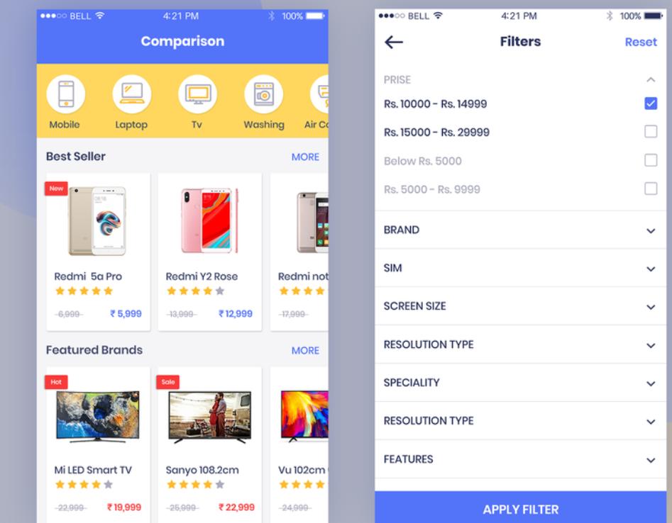 price comparison module