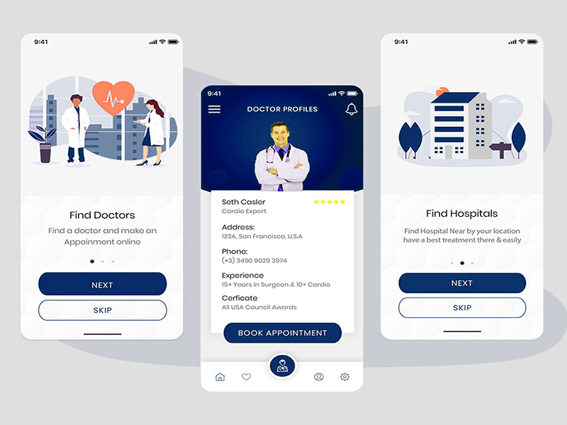 doctor finder mobile app