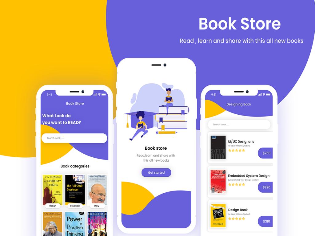 online bookstore app development