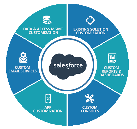 salesforce customisation services