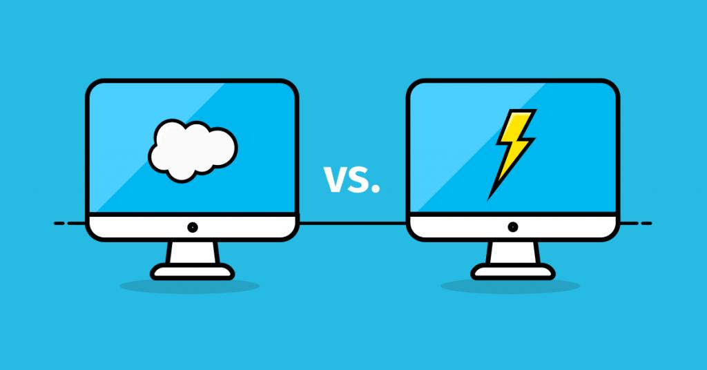 salesforce lightning vs classic