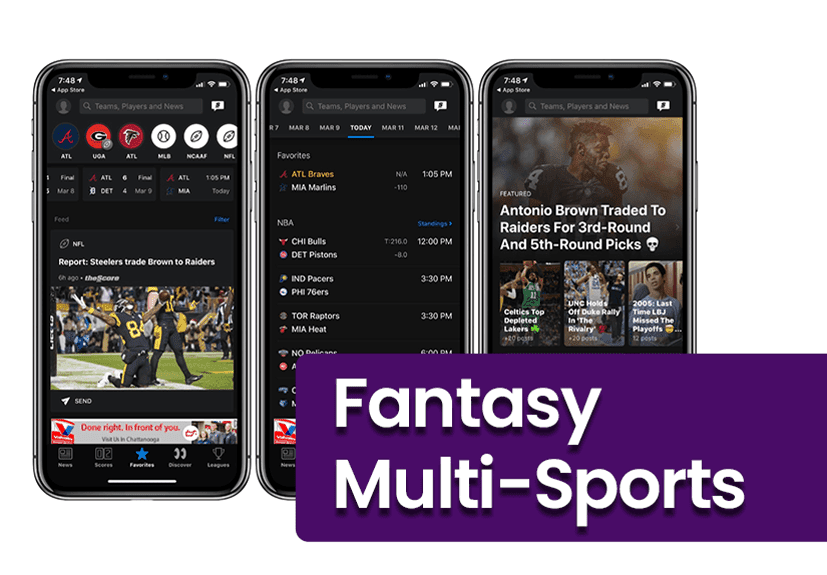 Fantasy Multi-Sports App Development