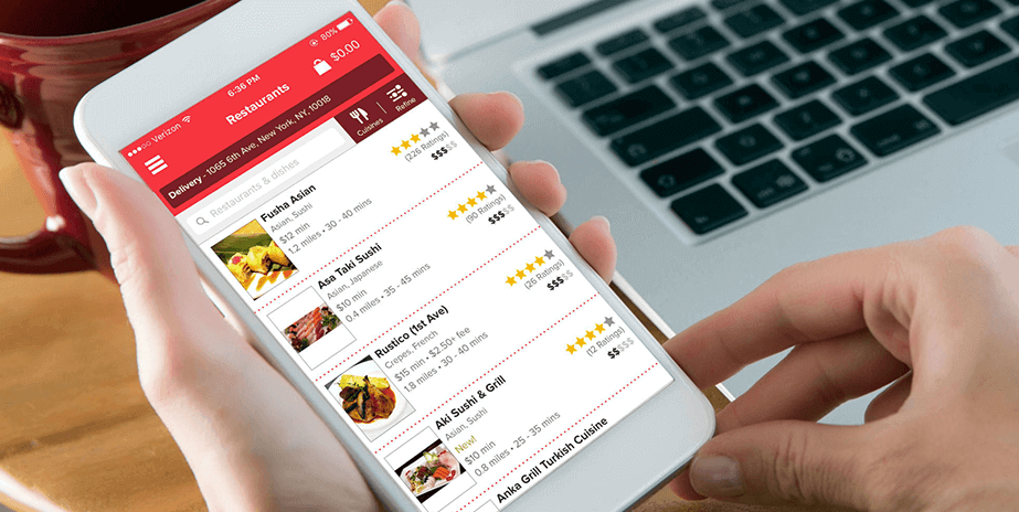 food ordering mobile app development company in india & usa