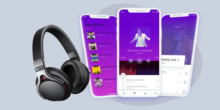 music streaming app development company in india & usa