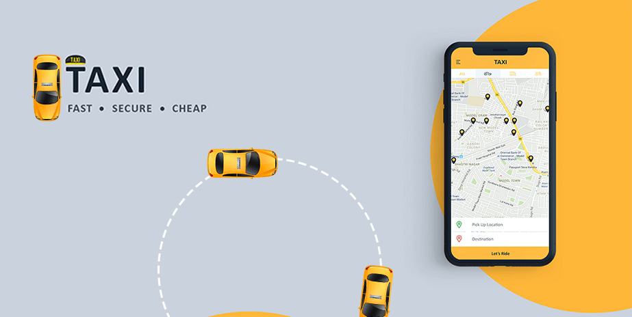 taxi mobile app development company in usa & india
